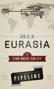 Join us in Eurasia - Eurasia Pipeline